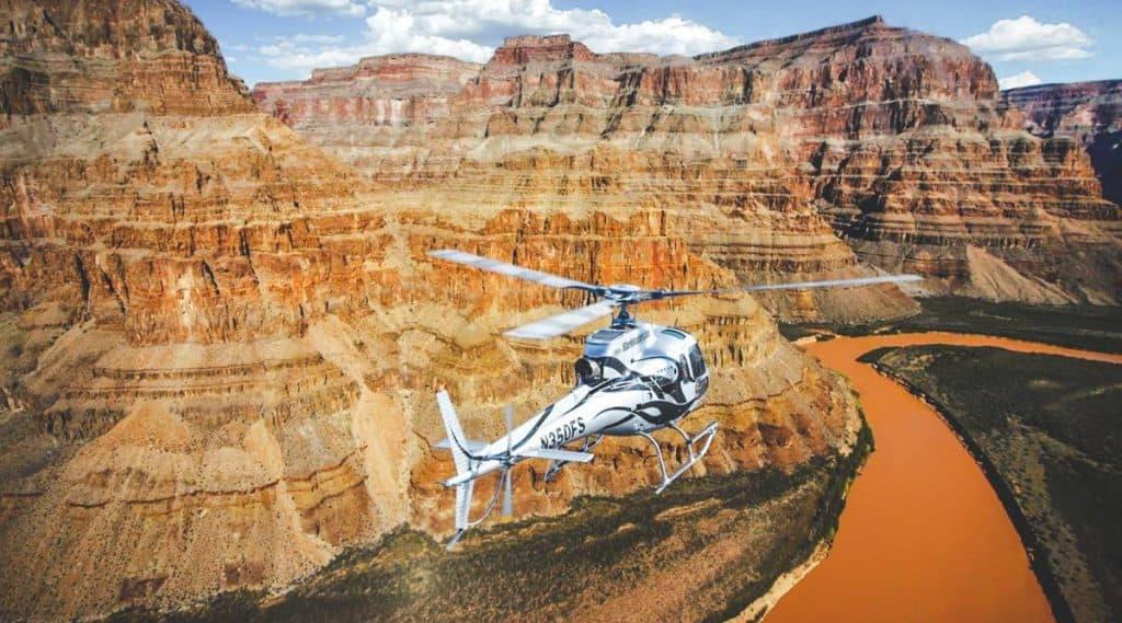 """Grand Canyon """"máy bay trực thăng"""""""