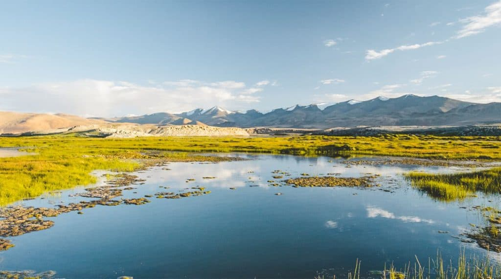hồ muối Tso Kar